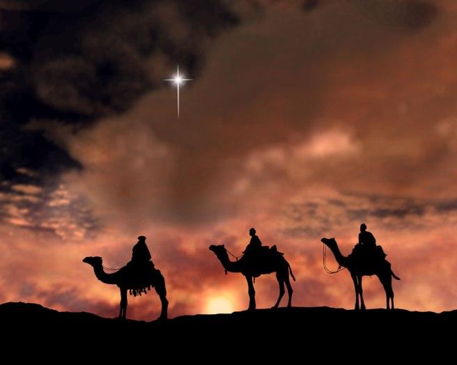 Jesus Christ on Christmas nativity scene